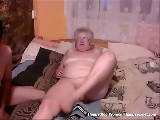 Granny loves young boys