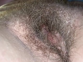Hairy Jean Plays With Bush