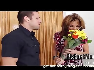Her husband not home, let'_s fuck the old pussy