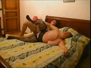 Olga Ginette  French Mature BBW Fucks Young Dude  EDITED