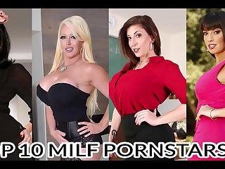 Top 10 Greatest Milf Pornstars Part II