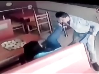 Sex in a Hotel  Husband and Wife  caught by manager