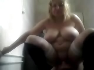 Russian Mature Stepmom and Her Stupid Boy Homemade Amateur