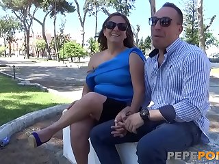 MILF bombshell Angela enjoys wild sex with her fuckfriend Alberto