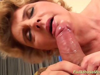 busty chubby moms first tit job
