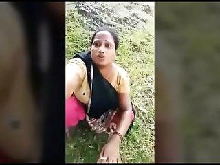 Indian mom outdoor