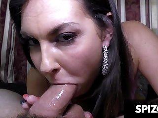 Hot Petite Brittany Shae Sucks Cock  Spizoo