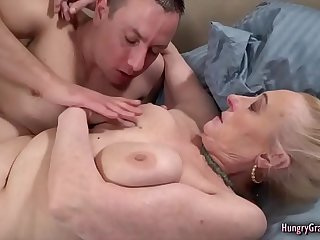 Busty Mature Gets Her Pussy Banged Hard