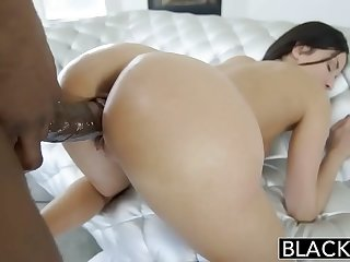 Blacked French Girl Hot Interracial Anal Sex  more on sexfree.online