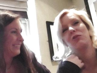 British older nurse sharing weenie in threesome