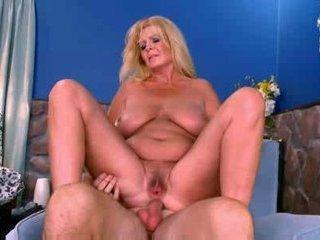 Hot mature busty curvy blonde arowyn white