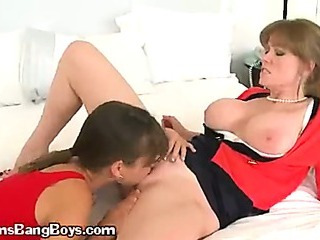 Two Seductive Office Girls Going Wild