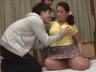Japanese beauty Neko gets her plump body fucked