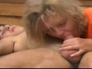 Czech mom and son