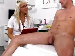 Marketa a naughty nurse milf sex with a patient