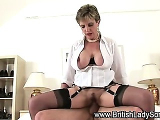 British slut pounded