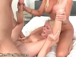 MILF Shows Teen How To Fuck Her Daughter