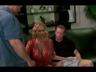 Julia Ann gets Two Hot Dicks
