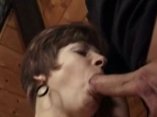 Granny Ethel sucking cock
