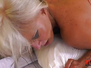 Caught fucking my girlfriends mom in the ass mature mother in law Sally Dangeloi
