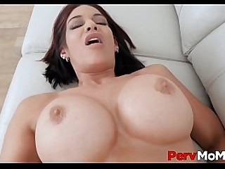 Hot MILF Step Mom Huge Boobs Brunette Ryder Skye Sex With Stepson POV