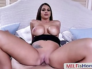 Horny Bitch Of a Step Mom Lets Step Son Fuck Her