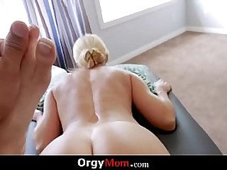 Horny Mom Fucks Her Step son Outdoors