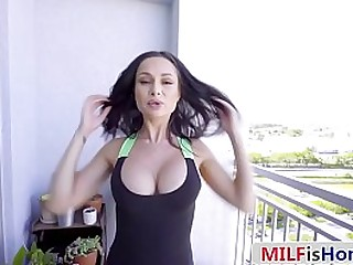 Gorgeous Eastern European Mom Seducing Her Stepson