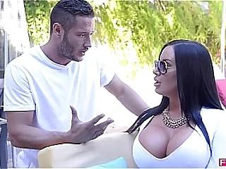 Fuckin HD-Big Titty luxury slut Sybil Stallone slammed hard by Danny Mountain