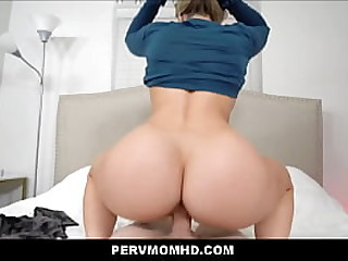 Hot Blonde MILF Step Mom Multiple Orgasms While Being Fucked By Big Dick Son POV