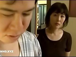 Japanese mom at night
