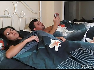 Limp Fetish Son fuck Sleep Mommy