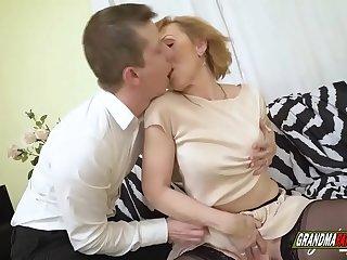 I caught my grandmother masturbating